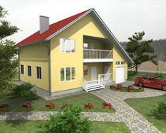 Каркасно-панельный дом 170 м2