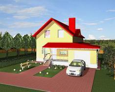Каркасно-панельный дом 173 м2