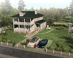 Каркасно-панельный дом 183 м2