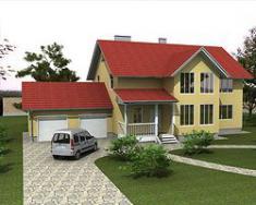 Каркасно-панельный дом 230 м2