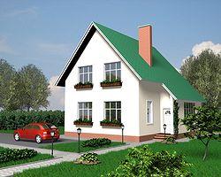 Каркасно-панельный дом 162 м2