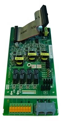 Адаптор домофона на 4 порта для АТС Panasonic серии KX-TE