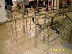 перила из нержавеющей стали