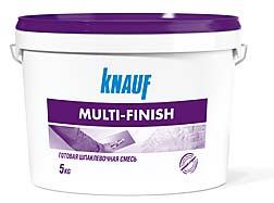 КНАУФ Мульти-финиш паста – готовая шпаклевочная смесь на основе полимерной дисперсии