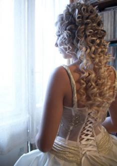 вечерние и свадебные прически