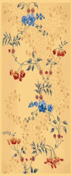 Монгольский шерстяной ковер