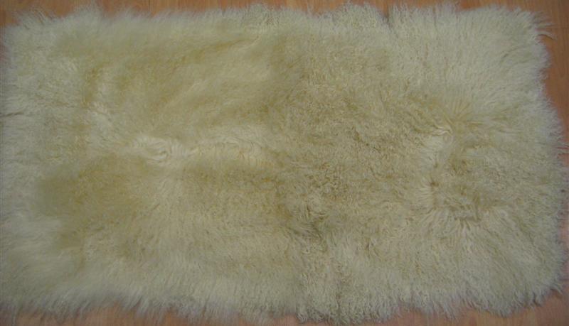 Овчина Тибетская желтая