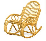 Кресло качалка разборное из ротанга 05-04KDМ