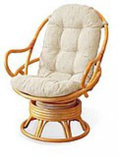 Плетеное кресло вращающееся 05-01К