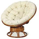 Плетеное кресло качалка Papasan 23-01BО