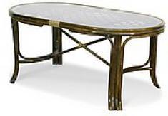 Плетеный обеденный стол 22-13К