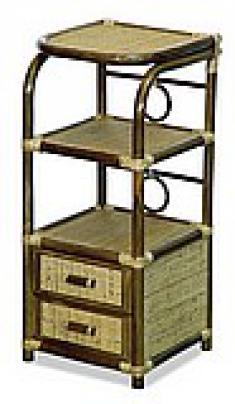 Столик под телефон из ротанга 13-10М