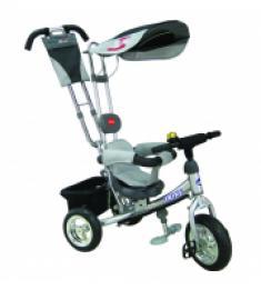 Велосипед 3-х колесный Trike, серебристый