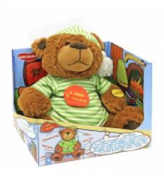 Детская мягкая игрушка Медведь-Сказочник