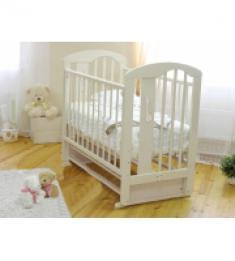 Кровать детская Агата 718, слоновая кость
