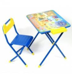 Набор мебели №3 Львенок и Черепаха, голубой