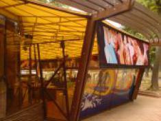 шатры для летних кафе