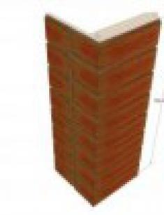 оконный элемент с клинкерной плиткой