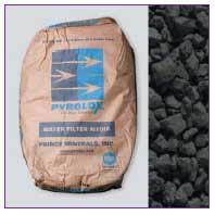 Pyrolox – гранулированная загрузка для удаления железа, марганца и сероводорода