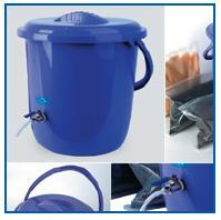 Засыпной фильтр Гейзер-Дачник предназначен для очистки воды из любого источника загородом или на да