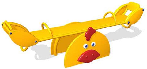 ИО-1.4.08.00 качалка «Цыпленок»