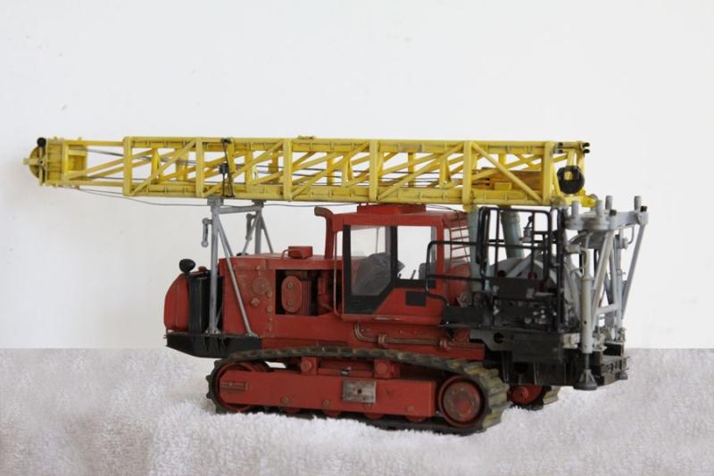 Агрегат подъемный для ремонта скважин УПТ - 40