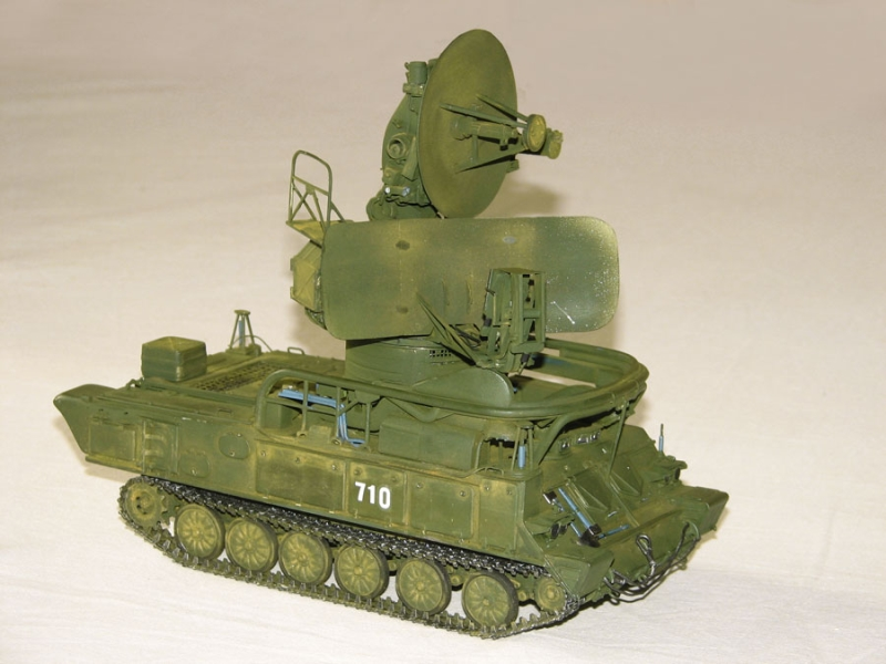 ЗРК 2К12 Куб, самоходная установка разведки и наведения СУРН 1С91