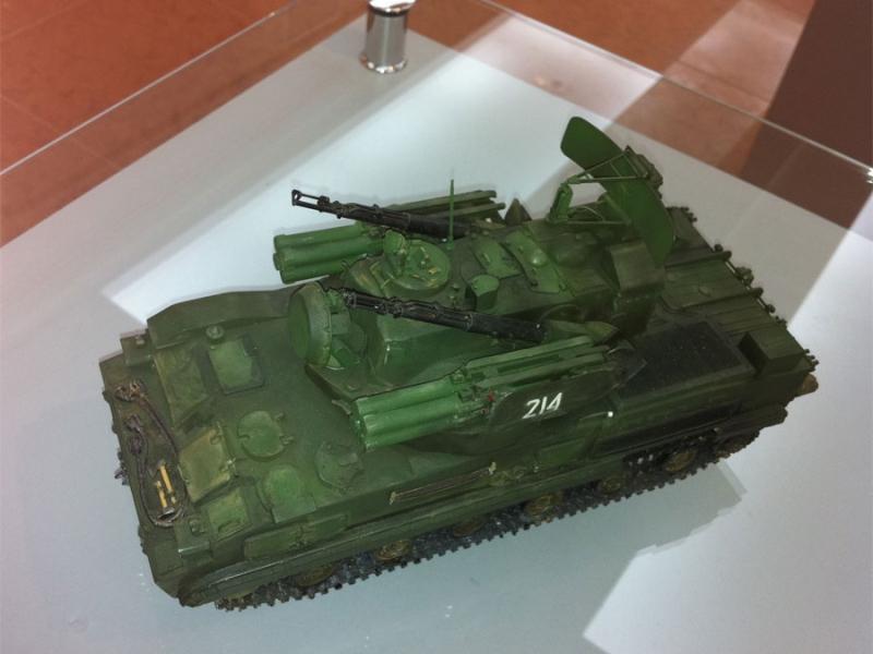 ЗРПК 2С6 Тунгуска