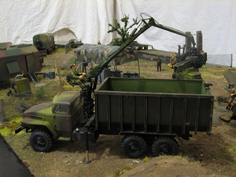 Мобильный комплекс утилизации военной техники Модуль Гранит