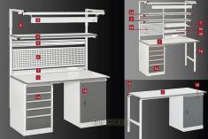 Промышленная мебель VIKING серии КОНСТАНТ