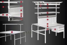 Промышленная мебель VIKING серии ОСТРОВ
