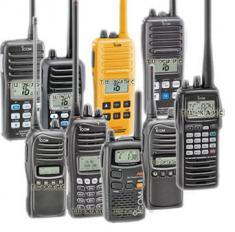 Средства радиосвязи и аксессуары фирмы ICOM
