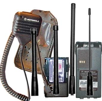 Средства радиосвязи и аксессуары фирмы MOTOROLA