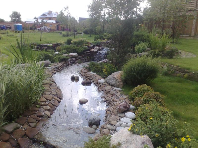 Водоемы, ручьи