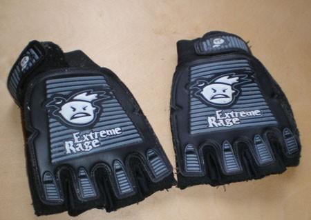 Защитные перчатки ER Half Finger Glove