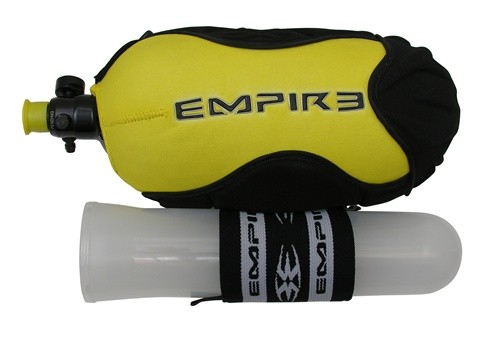 Чехол на баллон Empire w-Pod Strap 72 Ci - Желтый