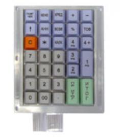 Клавиатура ДК-145 для кассовых аппаратов «Союз»