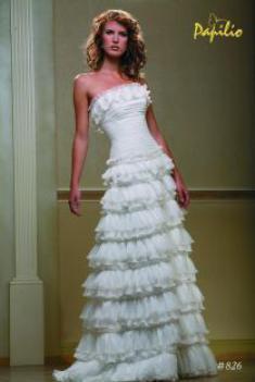 Свадебное платье- Бегония