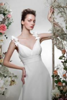 Свадебное платье- Белая роза