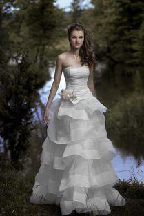 Свадебное платье- Дымка