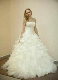 Свадебное платье- Мимоза
