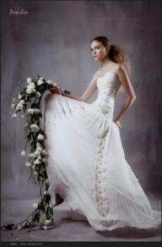 Свадебное платье- Настроение