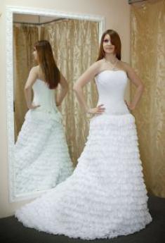 Свадебное платье- Сабрина