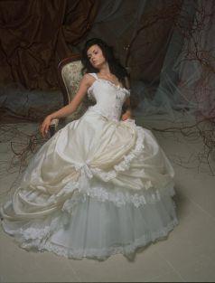 Свадебное платье- Халцедон