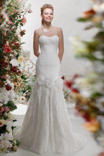 Свадебное платье- Цветочный иней