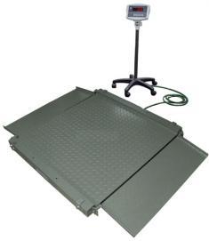 Весы платформенные напольные с пандусами EB4-Н 1000x1000