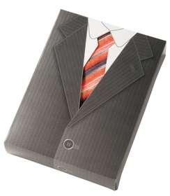 Упаковка для футболок с 3D галстуком