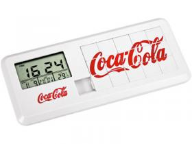Часы с термометром, датой и игрой «Пятнашки»