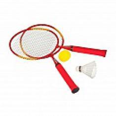 Набор для бадминтона Torneo (2 ракетки, 1 волан, 1 мяч)