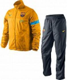 Спортивный костюм мужской Nike FCB SIDELINE WVN WUP WP WZ